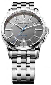 Швейцарские наручные мужские часы Maurice Lacroix PT6148-SS002-230. Коллекция Pontos