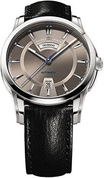 Швейцарские наручные мужские часы Maurice Lacroix PT6158-SS001-73E. Коллекция Pontos