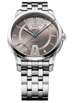 Швейцарские наручные мужские часы Maurice Lacroix PT6158-SS002-73E. Коллекция Pontos