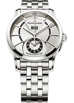 Швейцарские наручные мужские часы Maurice Lacroix PT6208-SS002-130. Коллекция Pontos