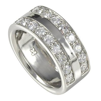 Серебряное кольцо  M0417R_90_03