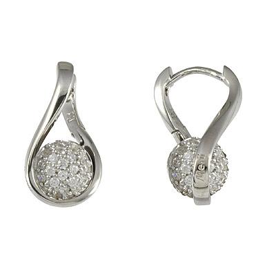 Серебряные серьги  M0519E_90_03