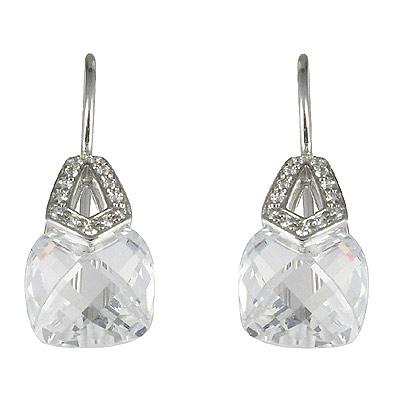 Серебряные серьги  M0534E_90_03