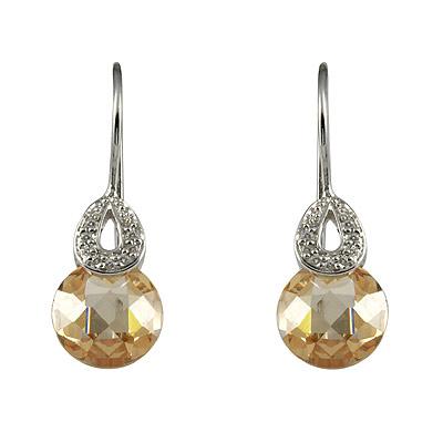 Серебряные серьги  M0536E_90_36