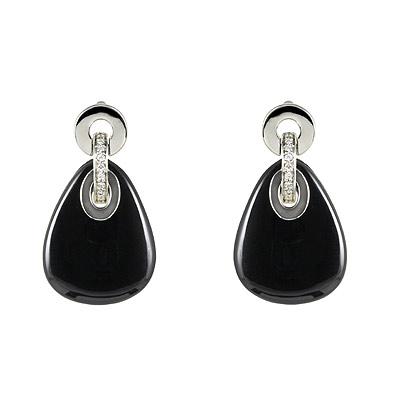 Серебряные серьги  M0567E_90_J4