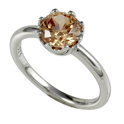 Серебряное кольцо  M0603R_90_A3