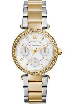fashion наручные  женские часы Michael Kors MK6055. Коллекция Parker