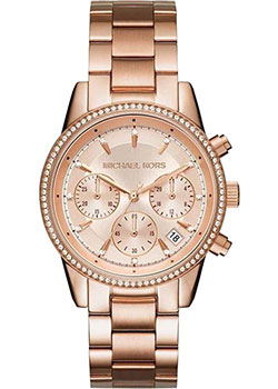 Наручные  женские часы Michael Kors MK6357. Коллекция Ritz