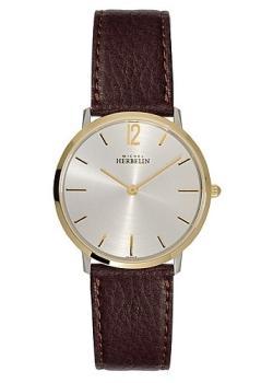 Купить Швейцарские наручные мужские часы Michel Herbelin 17015-T12MA.SM. Коллекция Classic Extra Flat