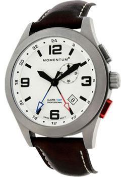 Momentum Часы Momentum 1M-SP58LS2B. Коллекция VORTECH GMT ALARM