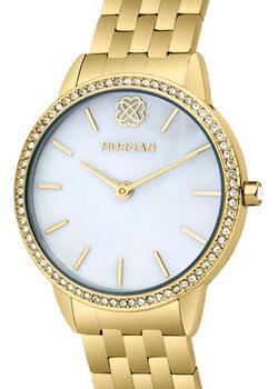 fashion наручные  женские часы Morgan M1260GM. Коллекция Adrienne