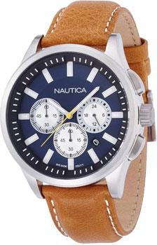 Швейцарские наручные  мужские часы Nautica A16695G. Коллекция Chrono