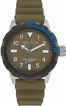 Швейцарские наручные  мужские часы Nautica NAD09518G. Коллекция Sport
