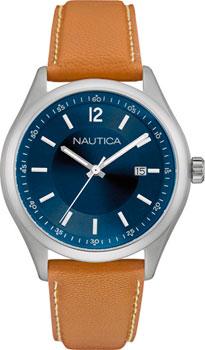 Швейцарские наручные  мужские часы Nautica NAD11014G. Коллекция Analog