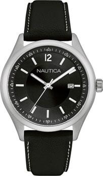 Швейцарские наручные  мужские часы Nautica NAD11015G. Коллекция Analog
