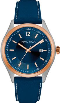 Швейцарские наручные  мужские часы Nautica NAD11528G. Коллекция Analog