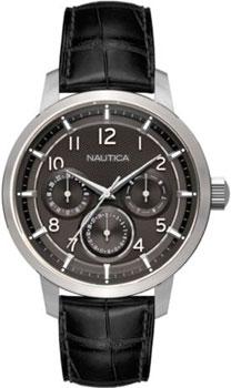 Швейцарские наручные  мужские часы Nautica NAD13545G. Коллекци Multifunction