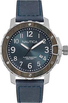 Швейцарские наручные  мужские часы Nautica NAD15012G. Коллекци Analog
