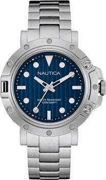 Швейцарские наручные  мужские часы Nautica NAD16005G. Коллекция Analog
