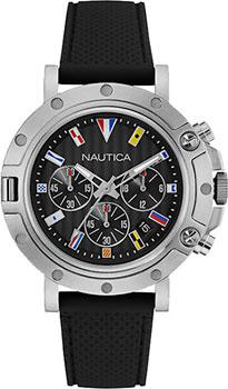Швейцарские наручные  мужские часы Nautica NAD17527G. Коллекция Chrono