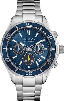 Швейцарские наручные мужские часы Nautica NAD18524G. Коллекция Chrono
