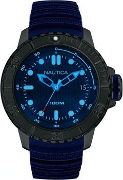 Швейцарские наручные  мужские часы Nautica NAD20509G. Коллекци Sport