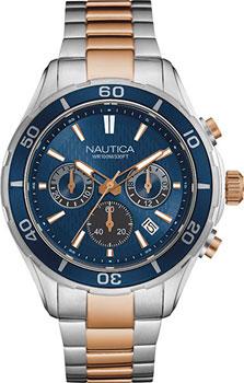 Швейцарские наручные мужские часы Nautica NAD21508G. Коллекция Chrono