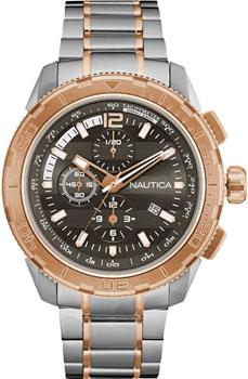 Швейцарские наручные  мужские часы Nautica NAD26503G. Коллекци Chrono