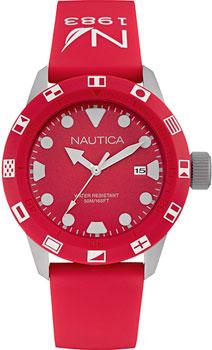 Швейцарские наручные  мужские часы Nautica NAI09510G. Коллекция Sport