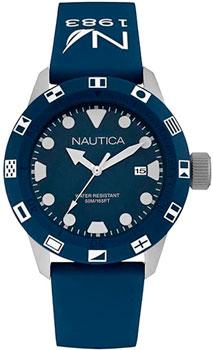 Швейцарские наручные  мужские часы Nautica NAI09511G. Коллекция Sport