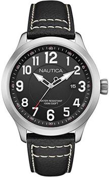Швейцарские наручные  мужские часы Nautica NAI10004G. Коллекция Analog