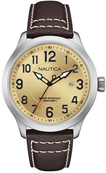 Швейцарские наручные  мужские часы Nautica NAI10006G. Коллекция Analog