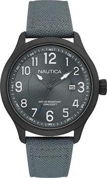 Швейцарские наручные  мужские часы Nautica NAI11514G. Коллекция Analog
