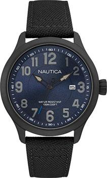 Швейцарские наручные  мужские часы Nautica NAI11515G. Коллекция Analog
