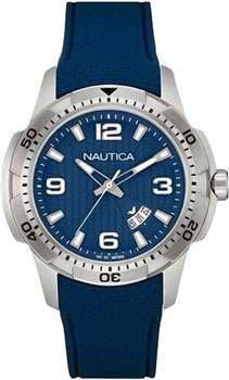 Швейцарские наручные  мужские часы Nautica NAI12522G. Коллекция Sport
