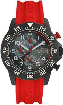 Швейцарские наручные  мужские часы Nautica NAI17514G. Коллекция Chrono