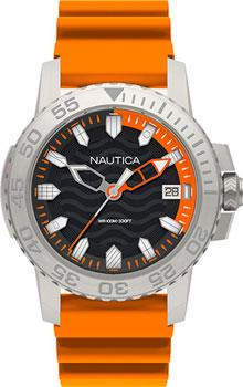 Швейцарские наручные  мужские часы Nautica NAPKYW002. Коллекци Sport