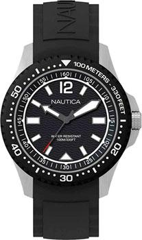 Швейцарские наручные  мужские часы Nautica NAPMAU001. Коллекция Sport