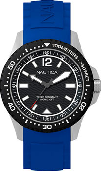 Швейцарские наручные  мужские часы Nautica NAPMAU002. Коллекция Sport