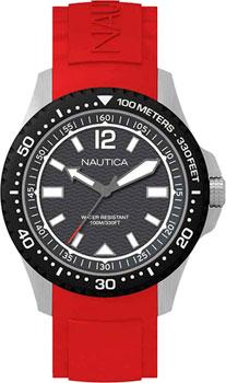 Швейцарские наручные  мужские часы Nautica NAPMAU003. Коллекция Sport