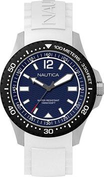 Швейцарские наручные  мужские часы Nautica NAPMAU004. Коллекция Sport