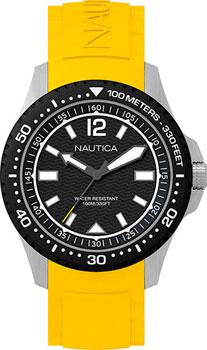 Швейцарские наручные  мужские часы Nautica NAPMAU005. Коллекция Sport