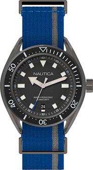 Швейцарские наручные  мужские часы Nautica NAPPRF002. Коллекци Sport