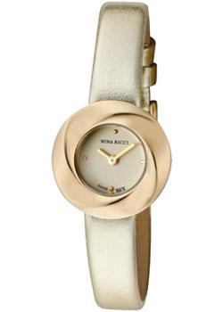 Швейцарские наручные  женские часы Nina Ricci N033.42.11.81. Коллекция N033