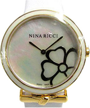 Швейцарские наручные  женские часы Nina Ricci NR043016. Коллекция N043