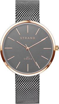 fashion наручные  мужские часы Obaku S700LXVJMJ. Коллекция STRAND.