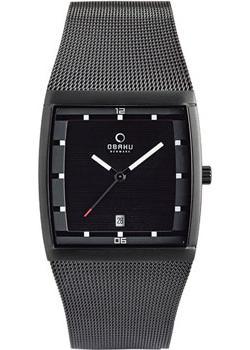 fashion наручные  мужские часы Obaku V102GDBBMB. Коллекция Mesh от Bestwatch.ru