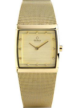 fashion наручные  женские часы Obaku V102LXGGMG. Коллекция Mesh