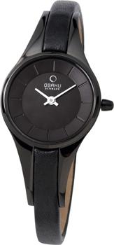 fashion наручные  женские часы Obaku V110LBBRB. Коллекция Leather от Bestwatch.ru