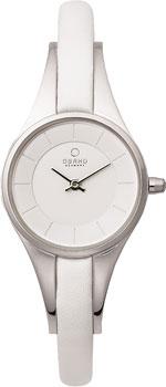 fashion наручные  женские часы Obaku V110LXCIRW. Коллекция Leather